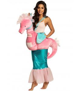 Disfraz de Sirena con Caballito de Mar