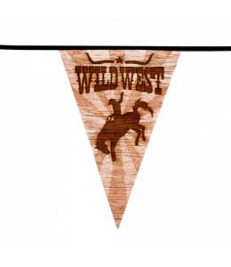 Guirnalda Tringular Wild West
