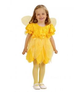 Disfraz de Hada Amarilla Bebe