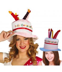 Gorro Tarta Feliz Cumpleaños