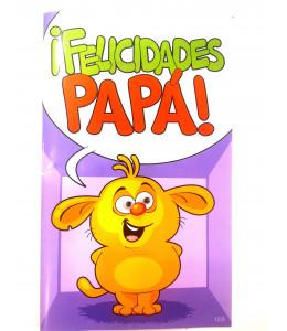 Tarjeta Felicidades Papa