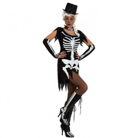 Disfraz de Esqueleto Vestido