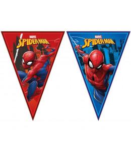 Banderines Triangulares de Spiderman