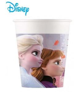 Vasos Frozen 6 unid