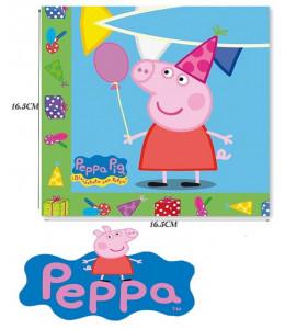 Servilletas Pepa Pig 20 Unid