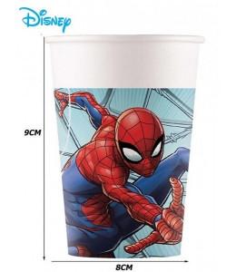 Vasos Spiderman 6 unid