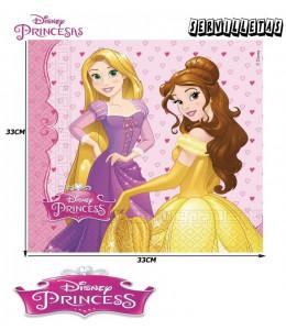 Servilletas Princesas Disney 20 Unid