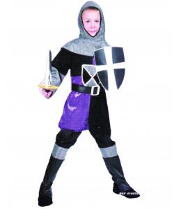 Disfraz de Caballero Medieval Morado Niño
