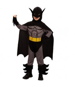 Disfraz de Bat Boy Heroe gris Infantil