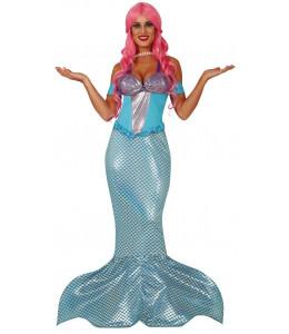 Disfraz de Sirena Azul