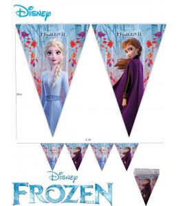 Banderines Triangulres Frozen II