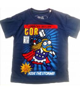 Camiseta Kukuxumusu Mazo Supersheeps Infantil