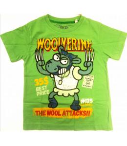 Camiseta Kukuxumusu Wolf Supersheeps Infantil