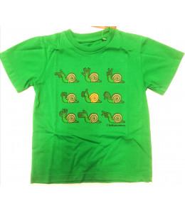 Camiseta Kukuxumusu Snail Infantil