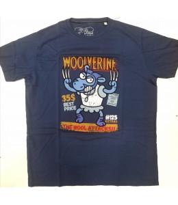 Camiseta Kukuxumusu Wolf Supersheep