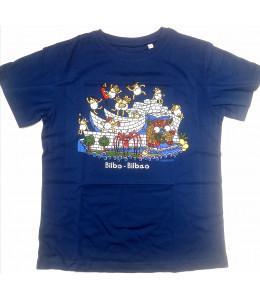 Camiseta Kukuxumusu Txakurlore infantil