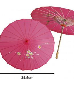 Sombrilla de Geisha Rosa