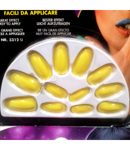 Uñas Amarillas Fluorescente