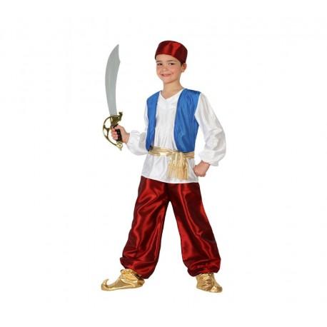 Disfraz de Aladino Azul Infantil