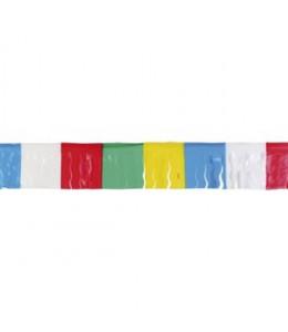 Guirnalda Flecos Multicolor 25m