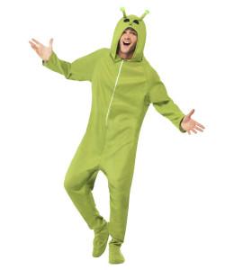 Disfraz de Alien Verde Pijama