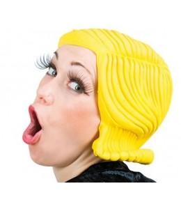 Peluca Latex Mujer