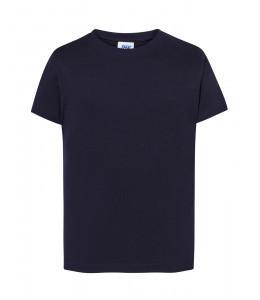 Camiseta Azul Marino Manga Corta Niña
