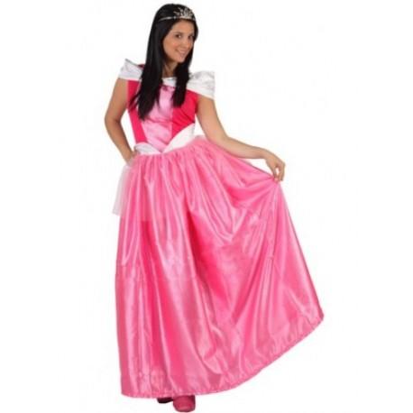 Disfraz de Princesa Rosa