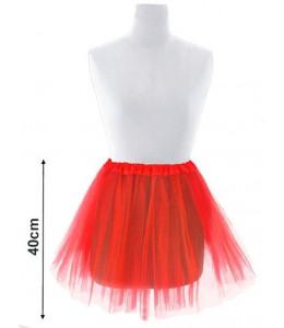 Tutu Rojo 40cm