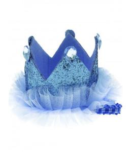 Corona Cumple Azul