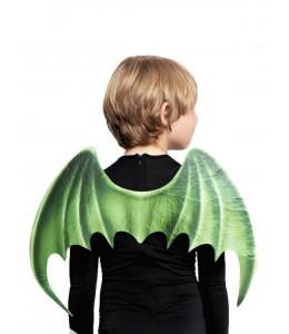 Alas de Dragon Verdes