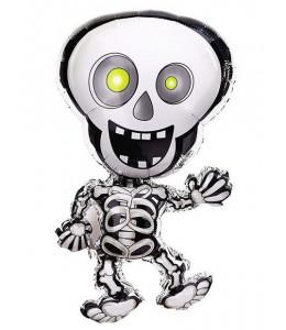 Globo Esqueleto Metalizado