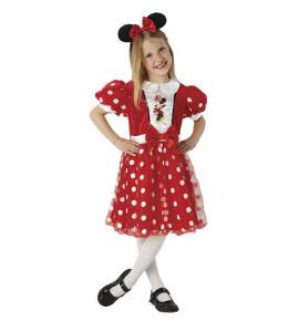 Disfraz de Minnie Mouse Red Infantil