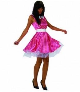 Disfraz de Chica Años 50 Rosa