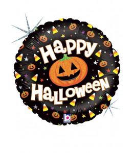Globo Circular Happy Halloween