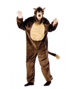 Disfraz de Lobo Marron Peluche Infantil