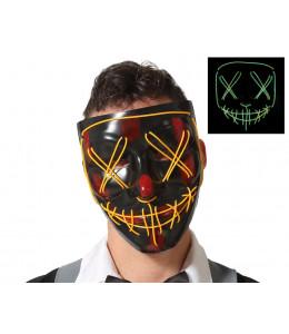 Mascara Asesino Purgador con Luz Led