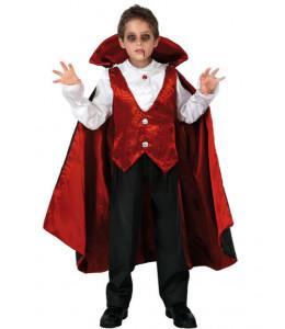 Disfraz de Vampiro Rojo Infantil