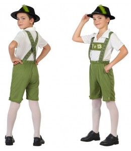 Disfraz de Tiroles infantil