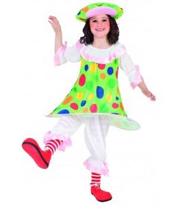 Disfraz de Payasina Infantil