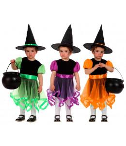 Disfraz de Brujita Colores Tul Bebe