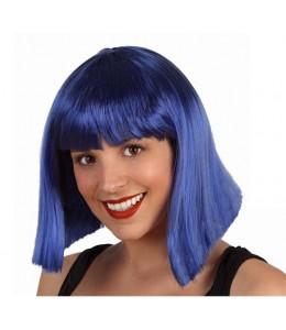 Peluca Melena Charleston Azul