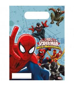 Bolsa de Regalo Spiderman 6 Unid