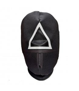 Mascara Juego Triangulo de Tela Infantil