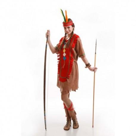 Disfraz de India Roja