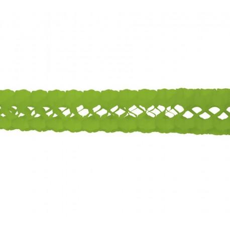 Guirnalda de Papel Verde
