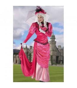 Disfraz de Dama Rosa
