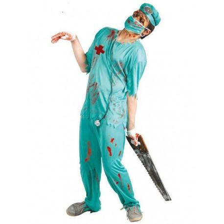 Disfraz de Cirujano Zombie