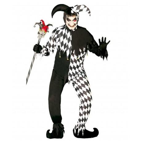 Disfraz de Joker Blanco y Negro