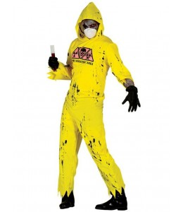 Disfraz de Buzo Radioactivo Zombie